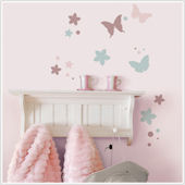 Juliette Butterflies Wall Decals