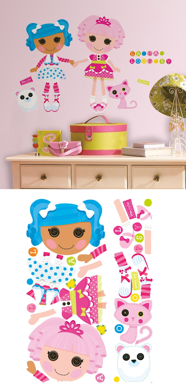 Lalaloopsy Giant Wall Decals - Wall Sticker Outlet