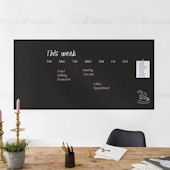 Large Chalkboard Peel and Stick Wall Decal