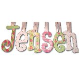 Lady Bug Dots Wooden Wall Letters
