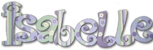 Lavender Pastel Wooden Wall Letters - Kids Wall Decor Store
