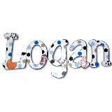 Logans Sports Wooden Wall Letters