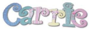 Party Dresses Wooden Wall Letters - Kids Wall Decor Store