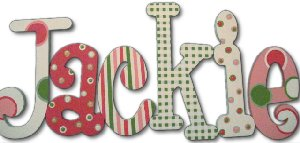 Party Pink Wooden Wall Letters - Kids Wall Decor Store
