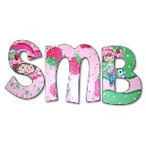 Strawberry Cakes Wooden Wall Letters