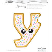 Lil Bets Letter Y Peel and Stick Sticker
