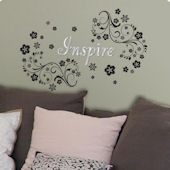 Lot 26 Studio Inspire Scroll Wall Decals