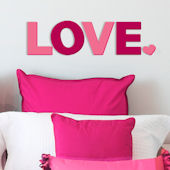 Lot 26 Studio 3D LOVE Wall Decor