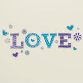 Lot 26 Studio Mirrored Love Wall Decals