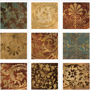 Lot 26 Tapestry Tiles Wall Decals