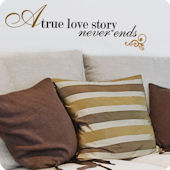 Lot 26 Studio Love Story Wall Decal
