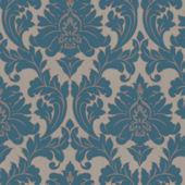 Graham and Brown Majestic Teal Wallpaper