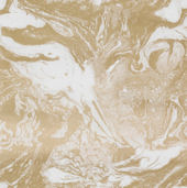 Ferm Living Marbling Gold Wallpaper