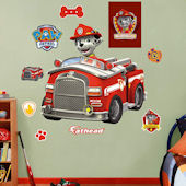 Fathead Paw Patrol Marshalls Fire Truck Decal