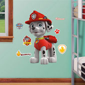Fathead Paw Patrol Marshall Jr Wall Decal