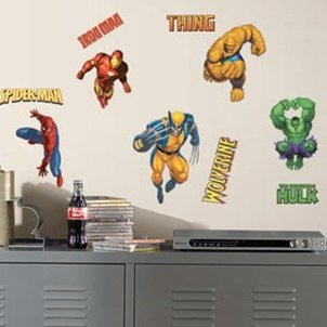 Marvel Heroes Decals