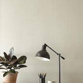 Magnolia Home French Ticking Cream Wallpaper