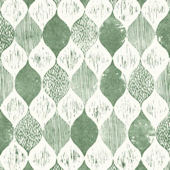 Magnolia Home Woodblack Forest Green Wallpaper