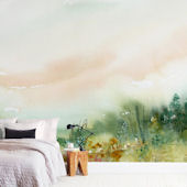 Minted Meadowland Repositionable Wall Mural