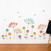 mia&co Chrysanthemums Transfer Wall Decals
