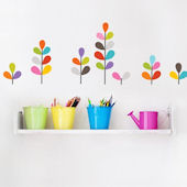 mia&co African Flowers Wall Decals