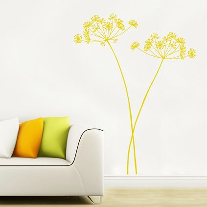 mia&co Algajola Transfer Wall Decals - Wall Sticker Outlet