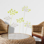 mia&co Astral Flowers Transfer Wall Decals