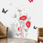 mia&co Avignon Transfer Wall Decals