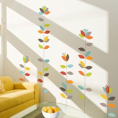mia&co Bloemendaal Transfer Wall Decals - Wall Sticker Outlet