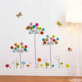 mia&co Buttercups Transfer Wall Decals
