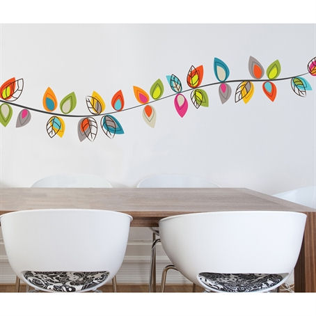 mia&co Darjeeling Transfer Wall Decals - Wall Sticker Outlet