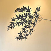 mia&co Fluttering Foliage Transfer Wall Decals
