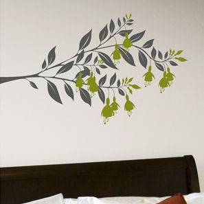 mia&co Fushia Transfer Wall Decals - Wall Sticker Outlet