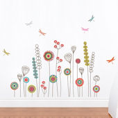 mia&co Garden Transfer Wall Decals