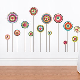 mia&co Jodhpur Wall Decals - Wall Sticker Outlet