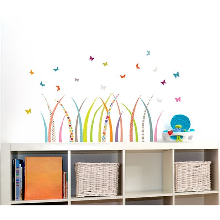 mia&co Meadow Wall Decals - Wall Sticker Outlet