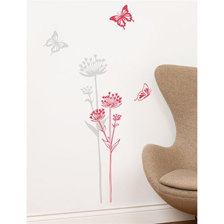 mia&co Neuchatel Transfer Wall Decals - Wall Sticker Outlet