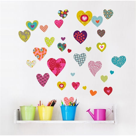 mia&co Rialto Wall Decals - Wall Sticker Outlet