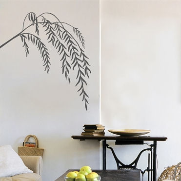 mia&co Slender Willows Transfer Wall Decals - Wall Sticker Outlet
