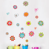mia&co Spring Wall Decals