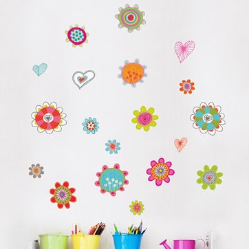 mia&co Spring Wall Decals - Wall Sticker Outlet
