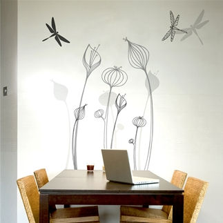 mia&co Talamanca Giant Transfer Wall Decals - Wall Sticker Outlet