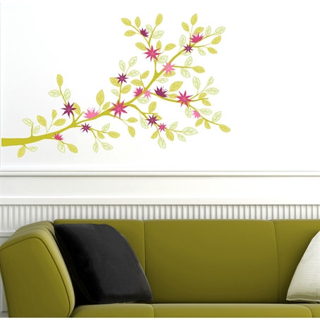 mia&co Vientiane Giant Transfer Wall Decals - Wall Sticker Outlet