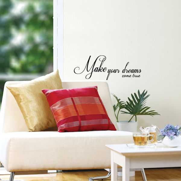 Mia Dreams Come True Transfer Wall Decals - Wall Sticker Outlet