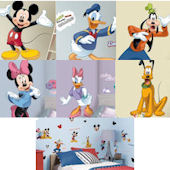 Mickey Mouse Club Decal Room Package