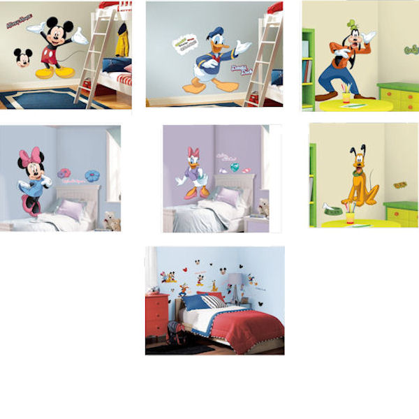 Mickey Mouse Club Decal Room Package - Wall Sticker Outlet