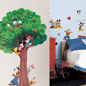 Mickey and Friends Growth Chart Decal Room Package