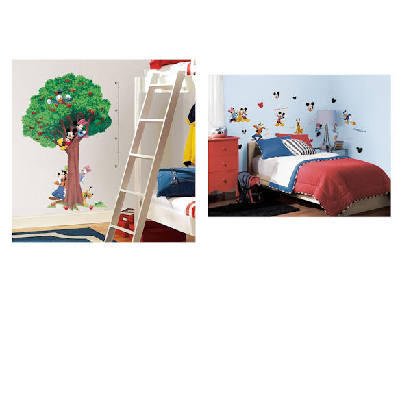 Mickey and Friends Growth Chart Decal Room Package - Wall Sticker Outlet