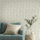 Magnolia Home Willow Green Wallpaper