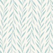 Magnolia Home Willow Blue Wallpaper
